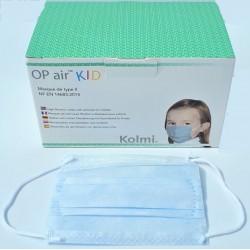 Детские хирургические маски MEDICOM  (5-12лет)